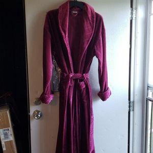 Full length Velour Robe